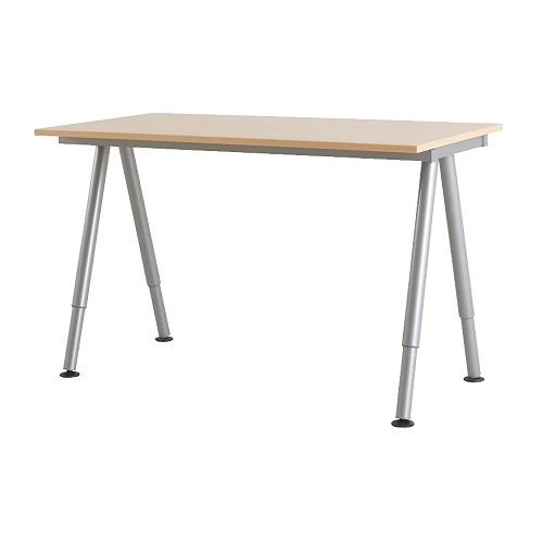 Simple adjustable standing desk jessica 39 s blog for Base de table ikea