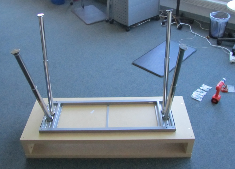 Simple Adjustable Standing Desk Jessica S Blog